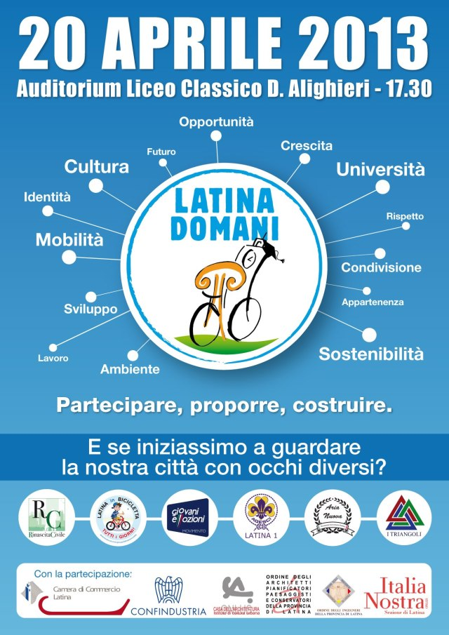 Locandina Latina Domani